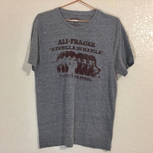 Lucky Brand Other - Lucky Brand | Men's Gray Muhammad Ali Graphic Tee